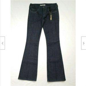 EXPRESS Size 2 Stella Bootcut Jeans 4038E1M